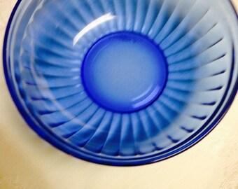 "Aurora Cobalt  5"" Cereal Bowl"