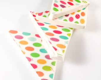 Polka Dot Imprinted Candy Bar