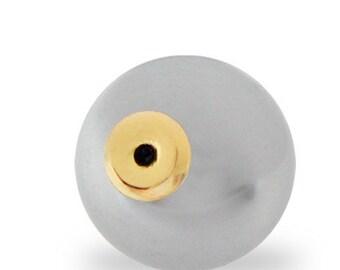 12mm Platinum Pearl Clutch (12 pair)