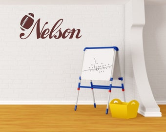 Boys personalized wall decal.