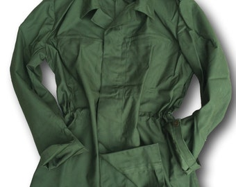 Army Bdu,M84 Plain Lightweight Ladies Chore  Jacket, Fatigue Jacket, Artisan Jacket
