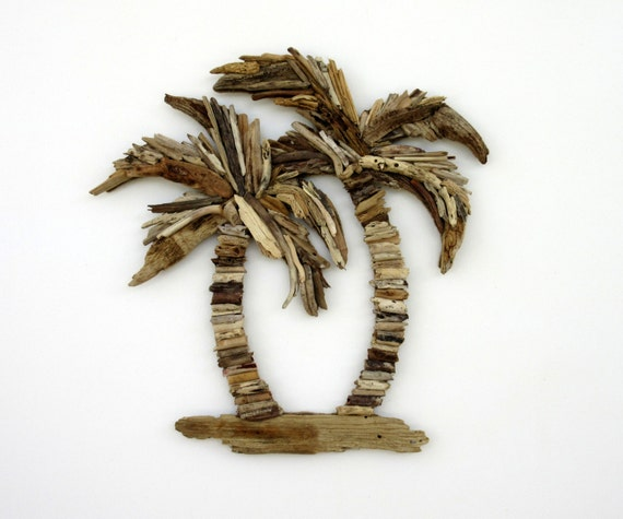 Driftwood Palm Trees Coastal & Tropical Wall Decor