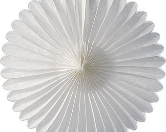 Large Tissue paper fans  weddings birthday decoration  baby shower  paper fans flower paper fans wedding