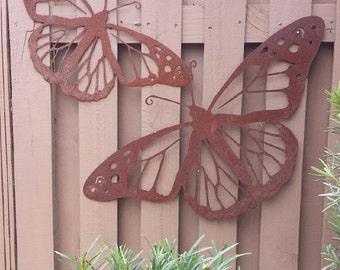 Butterfly Wall Art Etsy