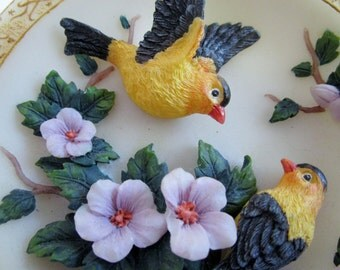 3-D Bird Dish