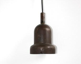 Vintage industrial metal pendant