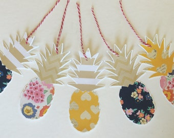CLEARANCE - 20% OFF - Pineapple Gift Tags - Random Mix
