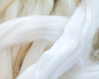 Undyed Banana Fibre for Spinning or Felting - 10 grams