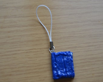 doctor who book phone strap