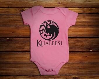 Game of Thrones Baby Bodysuit | Khaleesi Princess