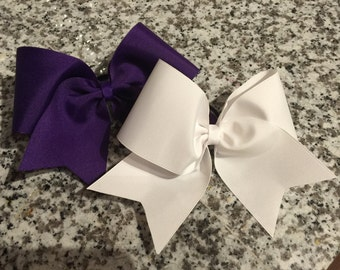 Plain Cheer Bows
