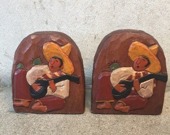 Vintage Bookends by Laguna Craftsman (63QGC5)