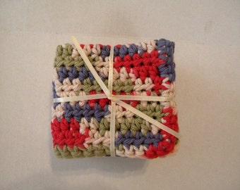 Crochet Dish Cloths, Crochet Wash Cloths