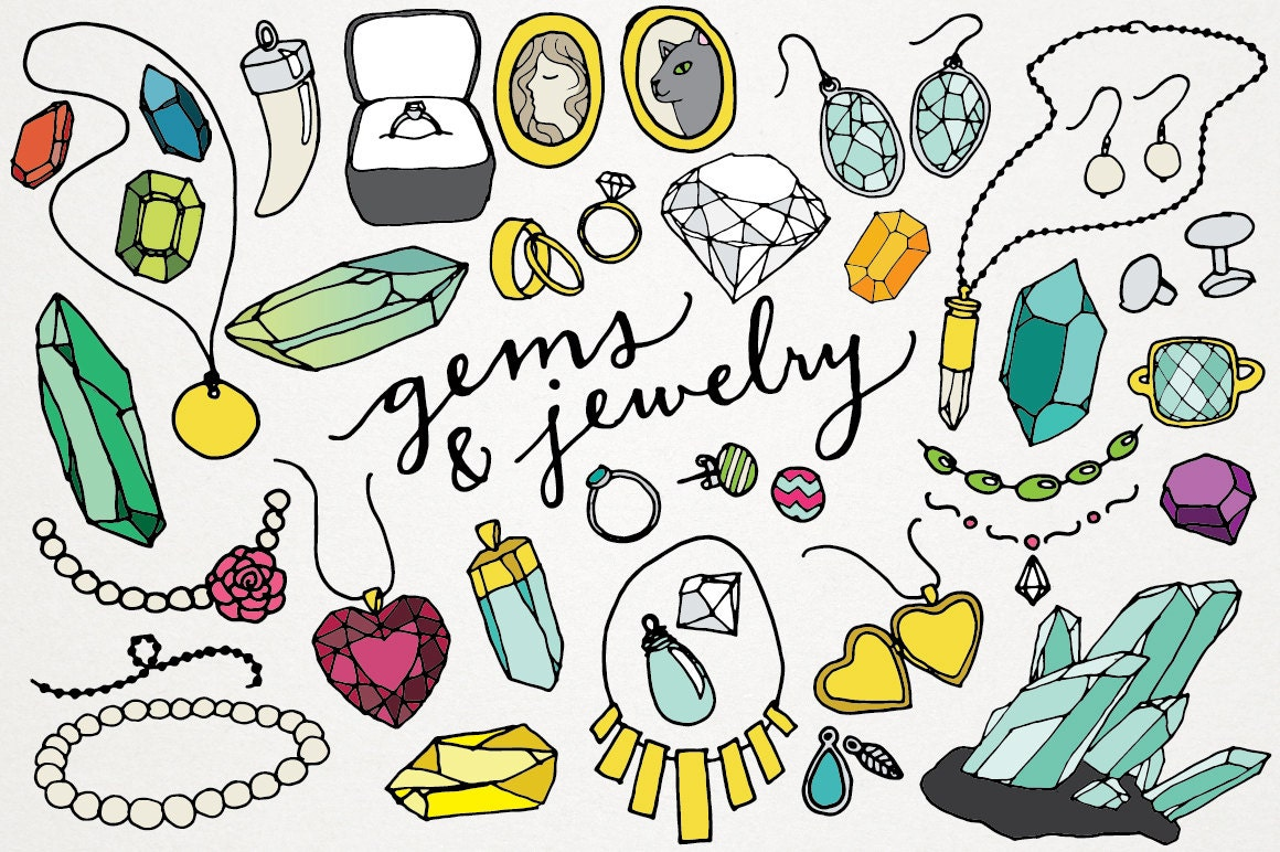 Gems And Jewelry Clipart Amp Logos Gems Clipart Jewels Clip