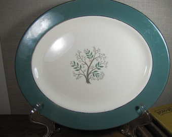 Vintage Hanover Serving Platters - Paradise Pattern - Set of Two (2)