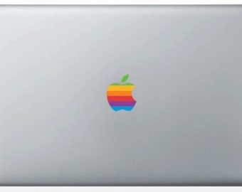 Stickers color MacBook Apple logo / iPad