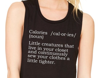 Calories Muscle Tee