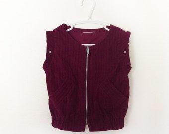 Vintage Cordoroy Vest