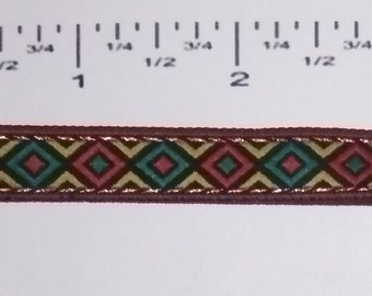 25 yards Jacquard ribbon -  25 yards