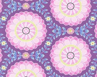Dahlia Medallion Premium Cotton from Michael Miller Fabrics