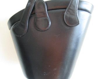 Collectible Rosenfeld Handbag in Black Leather