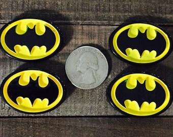 Batman Embellishment, Batman Resin, Batman Cabachon