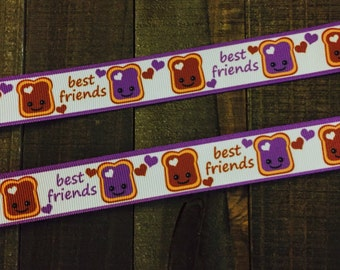 Best Friends, Peanut Butter and Jelly, PBJ ribbon