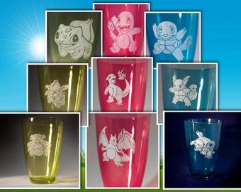 Starter Pokemon Evolution Glasses