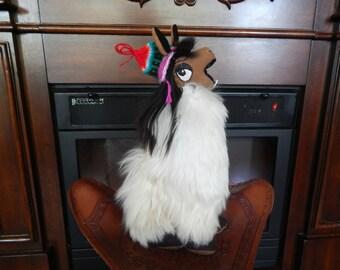Alpaca mini llama (Groovy inspired)