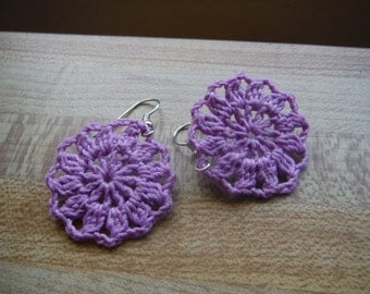 Circle/Flower Earrings