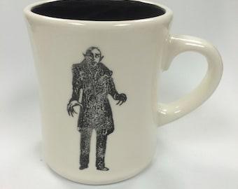 Nosferatu Vampire mug