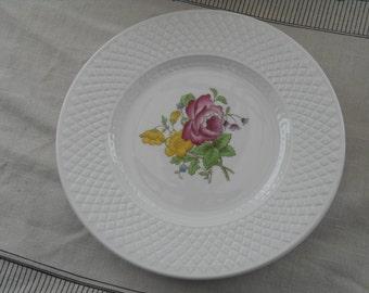 Spode Salad Plates, Set of 4 SP20 Mansard Rose