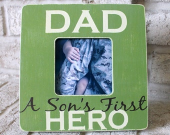 Father's day gift Father's day personalized gift Father's day frame Custom gift Father's day gift from son Custom picture frame
