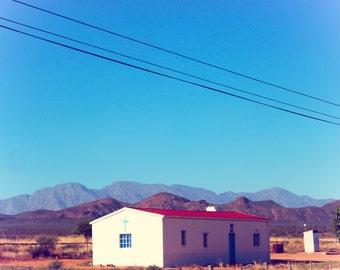 South Africa Landscape Photography, Landscape Print Art, Church Wall Art