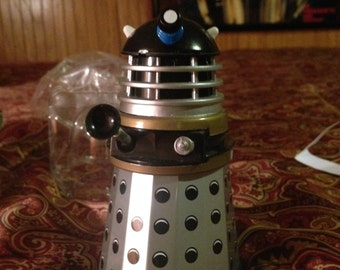 Doctor Who Dalek Tin Clockwork repro toy