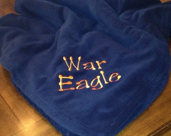 Auburn Fleece Blanket