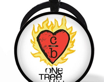 "One Tree Hill ""Clothes Over Bros"" Pendant Necklace or Keychain"