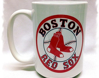 Boston Red Sox 15 ounce_ El Grande Mug