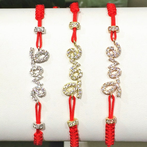 Love bracelet with real sparkly cubic zirconia a bracelet that pop, Safe to get wet, Priced to grab