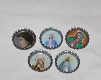 Catholic Saint Refrigerator Magnets