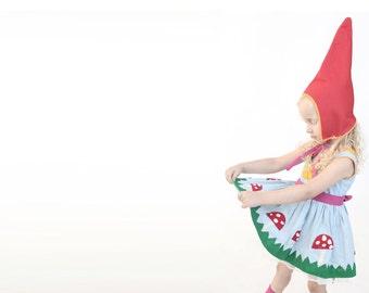 Halloween Elf costume ,Pixie costume, Kids dress up, Girls , dress up, handmade costume, Halloween costume children girl, Xmas