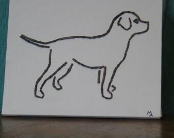 Labrador Mosaic Art