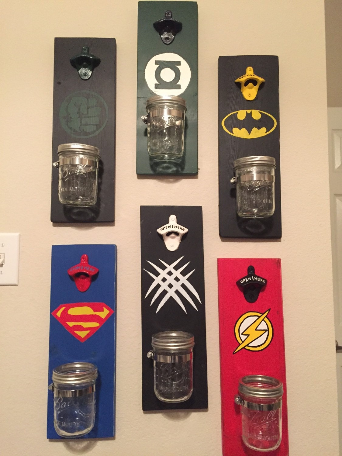 Custom Bottle Opener Superhero Bottle Opener By