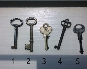 Antique Key Necklaces