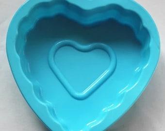 Heart Soap Mold Siicone Soap Mold Silicone Cake Mold DIY Soap Mold Silicone Cake Mold