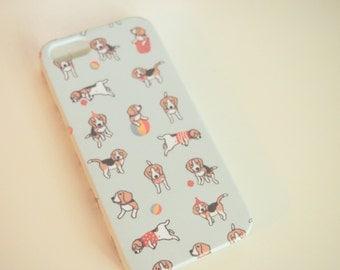 Baby Beagle Print Phone Case