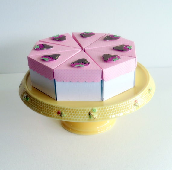 Etsy Cake Favor Boxes : Items similar to cake favor boxes paper on etsy