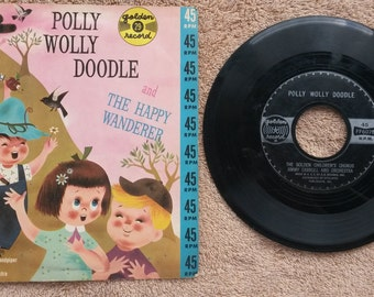 Polly Wolly Doodle 45 Record