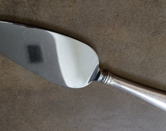 vintage silverplate cake knife and server etsy. Black Bedroom Furniture Sets. Home Design Ideas