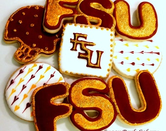 Custom College Cookies